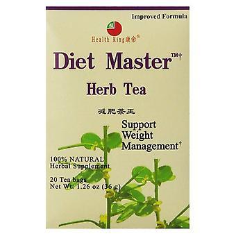 Health King Diet Master Tea, 20bg