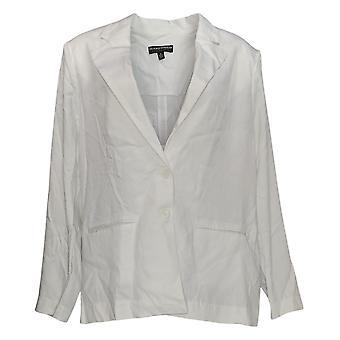 BROOKE SHIELDS Timeless Women's Suit Lightweight Blazer White A352808