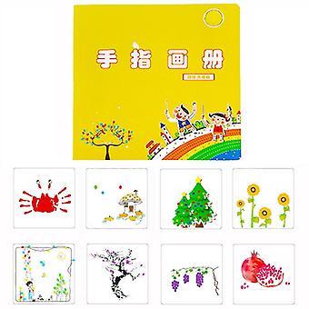 24cm مضحك 6-24 ألوان الحبر وسادة القدرة على التحمل الحرف اللوحة
