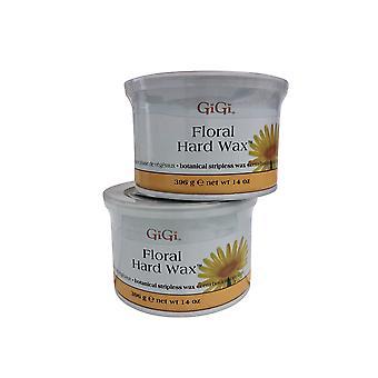 GiGi Floral Hard Wax 14 OZ Pack of 2