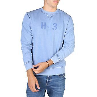 Hackett hm580663 men's ribbed hems sweatshirt