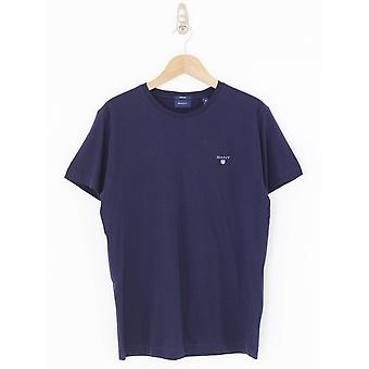GANT Original Crew Neck Tee - Navy