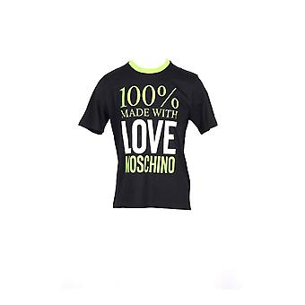 Amour moschino texte hommes t-shirt