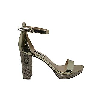 Nine West Womens Dempsey3 Peep Toe Casual Ankle Strap Sandals