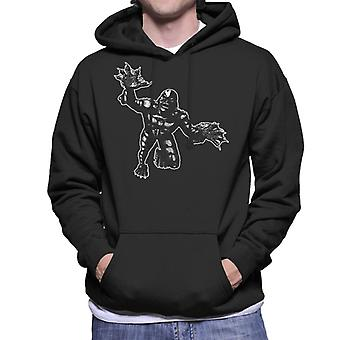 The Creature From The Black Lagoon Attack Men's Hooded Sweatshirt