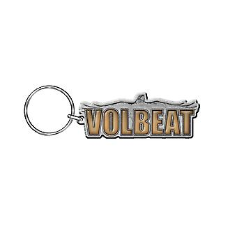 Volbeat Keyring Keychain Raven Band Logo Official New Silver