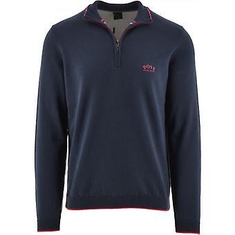 BOSS Navy Ziston_S21 Sweater