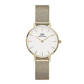 Daniel Wellington DW00100350 Petite Evergold White Dial Gold Tone Wristwatch