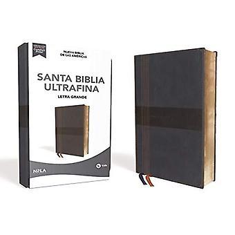 Nbla Santa Biblia Ultrafina, Letra Grande, Tamano Manual, Leathersoft, Azul, Edicion Letra Roja