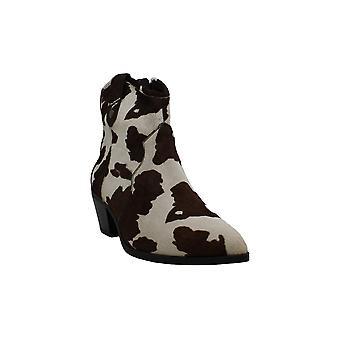INC International Concepts Womens latisha Leather Pointed Toe Mid-Calf Fashio...