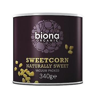 Biona Organicanic Sweetcorn - No added sugar 340g x6