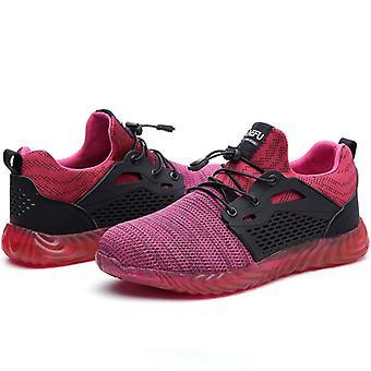 Tuhoutumattomat Ryder Miehet/naiset Steel Toe Air Safety Saappaat Hengittävät kengät