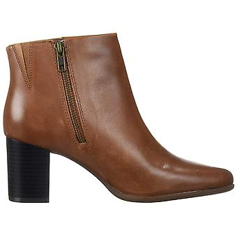 Rockport Women's Shoes Camdyn bootie Leather Almond Toe Ankle Fashion Boots