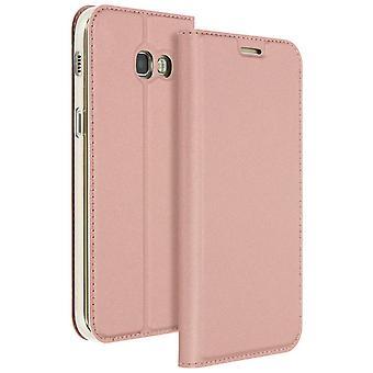 Mayaxess Skin Series Flip case, standing case for Samsung Galaxy A3 2017 – Pink