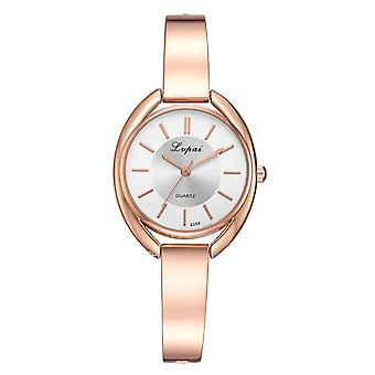 Bracelet, Fashion Women Dress Ladies Wrist Watch, Luxury Rose Gold Quartz Watch