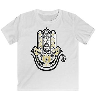 "White Graphic Youth ""hamza"" Tee"
