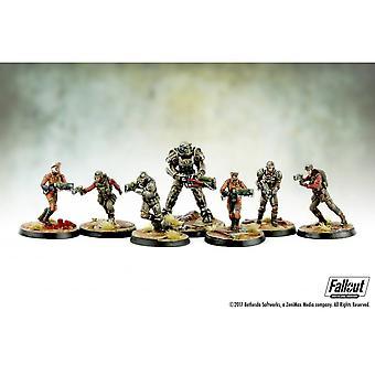 Fallout Wasteland Warfare Brotherhood Of Steel Core Box