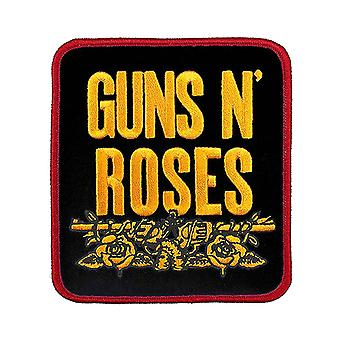 Guns N Roses Patch Stacked White Band Logo new Official