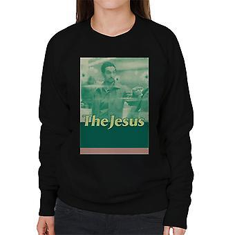 The Big Lebowski The Jesus Retro Women's Sweatshirt
