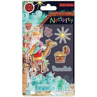 Craft Consortium Nativity Clear Stamps Bethlehem