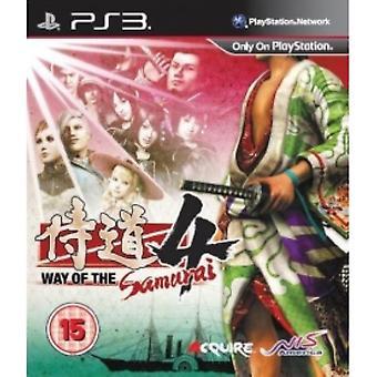 Way Of The Samurai 4 Game PS3