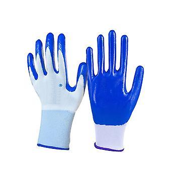 Nitrile potažené pracovní rukavice pro řidiče, pracovníky, stavitele, zahradnictví