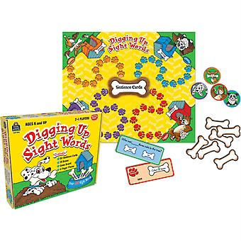 Digging Up Sight Words Board Game
