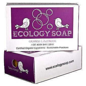 Ecology Soap Orange Lavender Body Bar