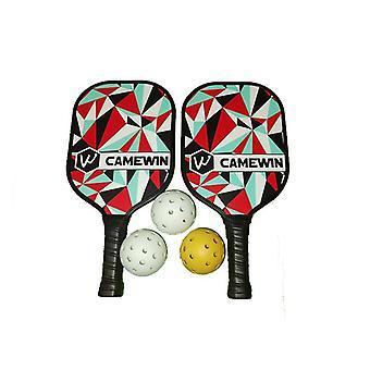 Pickleball Racket Set3 Balls & 2 Paddles &1 Bag