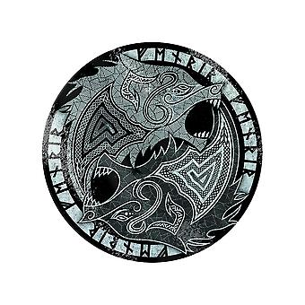 Grindstore Fenrir The Wolf Glass Chopping Board