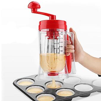 Batter Dispenser Manual Pancake, Cupcake Cream Butter, Mixer/ Blender Machine