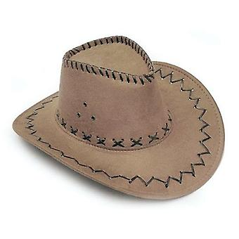Western Cowboy Hat Cheap Price Gentleman Cowgirl Jazz Cap With Suede Sombrero