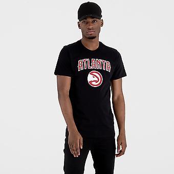 Nova era nba Atlanta Hawks Team Logo-camisa