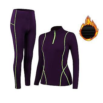 Winter Women's Thermal Underwear Set