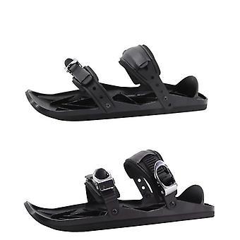 Mini patins de ski pour la neige - Fixations réglables Chaussures