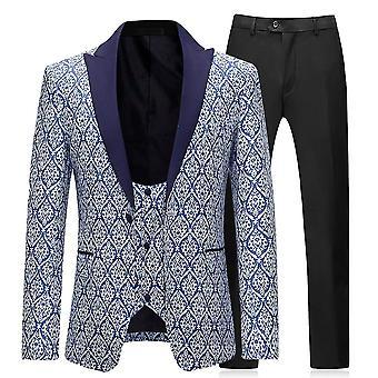 Pánské obleky 3 kusy formální klasické podnikání