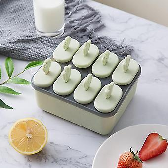 Crème glacée Popsicle Moules Outils de cuisson Rectangle En forme de diy réutilisable Frozen Ice