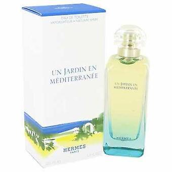 Un Jardin En Mediterranee By Hermes Eau De Toilette Spray (unisex) 3.4 Oz (women) V728-415845