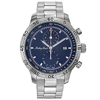 Mathey Tissot Men's Type 23 Chrono Quartz Blue Dial Watch - H1823CHABU