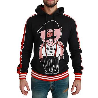 Black Pig of the Year Hooded Sweater