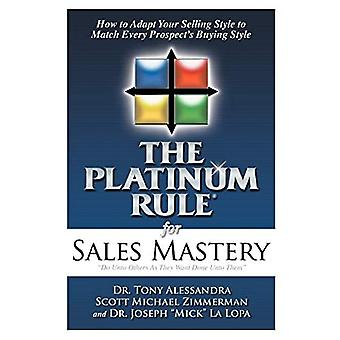 De platinaregel voor verkoopbeheersing