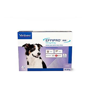 Virbac Effipro Duo Spot on Antiparasitic for Dogs from 10 to 20 Kg