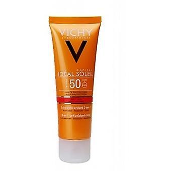 Vichy Ideal Soleil Antiedad con Color 3 en 1 spf 50 50ml
