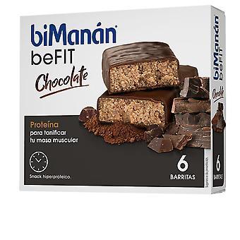 Bimanán Be Fit Barritas #chocolate 6 Pz Unisex