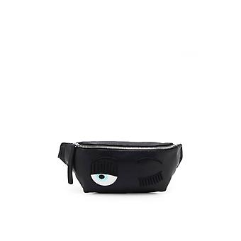Chiara Ferragni Flirting Black Belt Bag