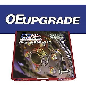 CZアップグレードチェーンとスプロケットキットは、カワサキEN500 A1 - 3 / B1 2 C1 90-96に適合します