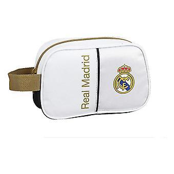 Школьный туалет сумка Реал Мадрид C.F. 19/20 Белый Черный