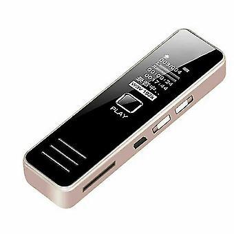 充電式ボイスレコーダーHDデュアルマイクノイズリダクションリモートボイスレコーダーmp3プレーヤーのプロの隠蔽