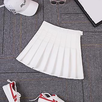 Japanese Jk Plaid Skirt, Women Tennis Skirt
