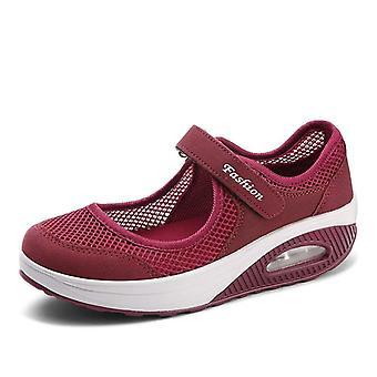 Zapatos casuales para mujer, zapatilla vulcanizada transpirable